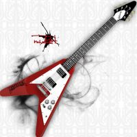 Flying Gibson-V by MurthY