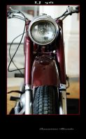 3 red IJ 56 motocycle by comarnicianu