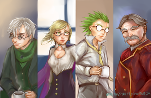 Beacon Academy Professors by wanderingspirit27