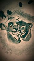 The Real Black Lion Couple by Iva-Inkling