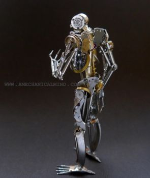 Sentience (Rear L 3/4) Watch Parts Humanoid by AMechanicalMind