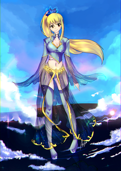 Commission - Lucy .Celestial. by Arisa01