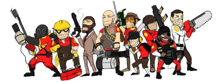 TF2 All class by KOR-Nori