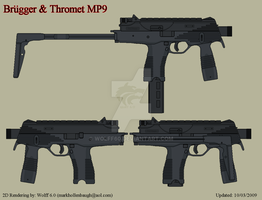 Brugger and Thromet MP9 by Wolff60