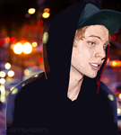 Under these City Lights - Luke Hemmings by danny-spikes