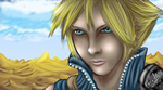 Cloud Strife landscapee by Sig17gm