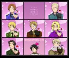 Hetalia Seven Minutes in Heaven by mrsprime1