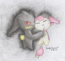 Captured By Thorne The Banette by PokreatiaForms