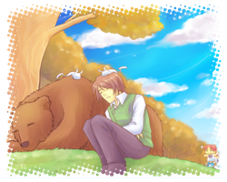 PoP: SS event, sleeping with bear by NEWLL