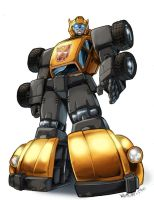tf g1 bumblebee inks and color by beamer