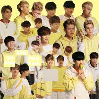 EXO's PNG Pack {Sunny10} by kamjong-kai