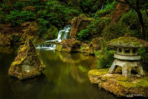 Portland Japanese Gardens by jacolynca