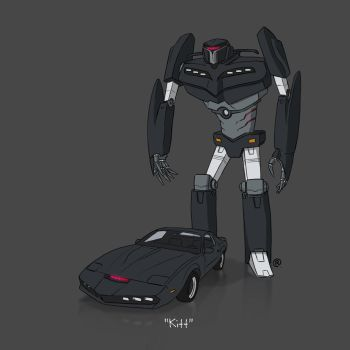 If They Could Transform - Kitt by darrenrawlings