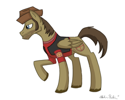 TF2 - Sniper Pony by 9CentsChange