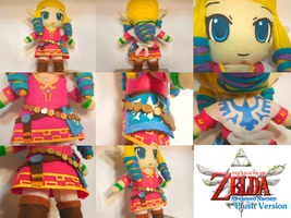 Skyward Sword Zelda Plush by frillycarnival