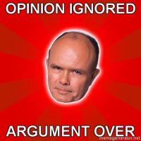 Red Foreman Meme by Bogardeth