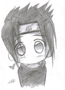Super Kawaii Chibi Sasuke by PurplGoddess565