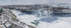 Niagara Gorge in Winter by TomFawls