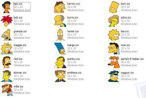 Simpsons Icons XP by blarg