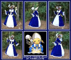 Cosplay Pikachu Belle Collage by pikabellechu