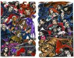 Marvel-DC: Vampire War by olybear
