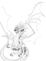 COMMISH: Detailed Ulrich Lineart WIP by XRosewaterX