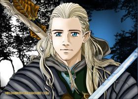 Two Towers Legolas by Neldorwen