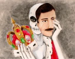 Freddie Mercury by SamantaRed