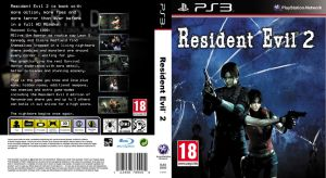 Resident Evil 2 REmake Playstation 3 Boxart Cover by TrivialJohn