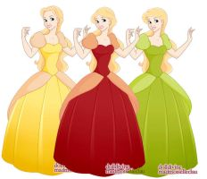Princess Maker - Bimbettes by foreverbeginstoday