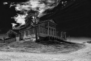 The house on the hill by Jamurka