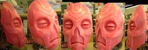 Dragon Priest Mask mold (finished) by Corroder666