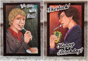 Sherlock card by ciphz