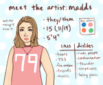 meet the artist by Damocloid