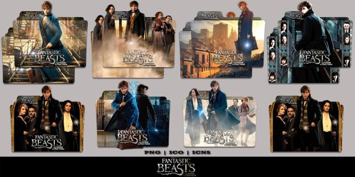 Fantastic Beasts And Where To Find Them (2016) by Bl4CKSL4YER