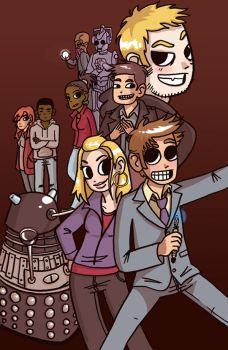 Dr Who Pilgrim Style by greensprout