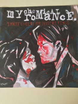 Three Cheers For Sweet Revenge album cover by artbymnm