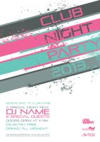 Club Night Party 2013 Poster Design by thomasdyke