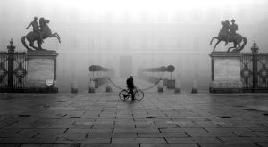 Fog in Turin 01 by Dicotomy