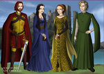 The Founders Four (Again) by kittyvonwiggy