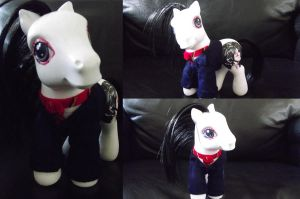 Three Cheers, MCR, Gerard- My Little Pony Customs by Cemetery-Nightmare