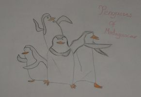 Penguins Of Madagascar by Ava-Drake