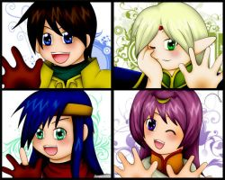 Faces of Lodoss by SorceressofMalice