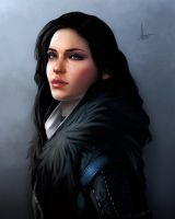 Yennefer of Vengerberg by artsip
