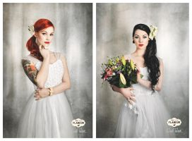 vintage wedding editorial no.5 by snottling1