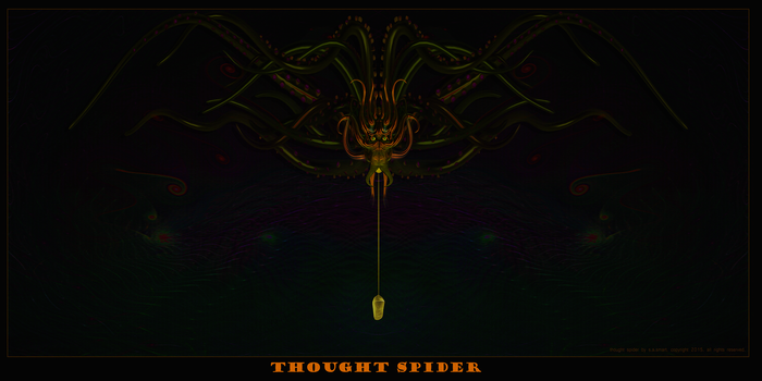 Thought-spider-2400x1200 by chalice-divine