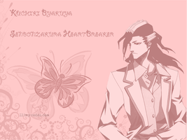 Byakuya - Senbon HeartBreaker by Club-Bleach
