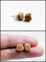 S'mores Earrings by Bon-AppetEats
