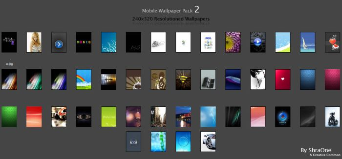 Mobile Wallpapers Pack2 by ShraOne