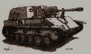 SU-76 by TimSlorsky
